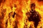 خودسوزی نیروی پیمانکار در اداره برق مسجدسلیمان