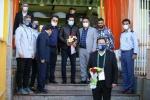 تقدیر از مهدی تارتار مربی رکورددار در مسجدسلیمان (عکس)