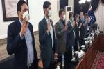 مراسم تحلیف اعضای شورای ششم شهرهای مسجدسلیمان، گلگیر و عنبر برگزار شد+ تصاویر