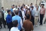 بازدید نماینده ولی فقیه در استان خوزستان از مناطق زلزلهزده مسجدسلیمان + تصاویر