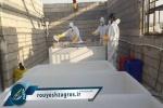 گزارش پایگاه خبری رویش زاگرس از وضعیت تغسیل و تدفین بیماران کرونایی در مسجدسلیمان + آخرین آمار و تصاویر