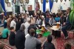 مراسم شب بیست و سوم ماه مبارک رمضان با حضور قاری ممتاز کشور در مسجد بازار چشمه علی+تصاویر