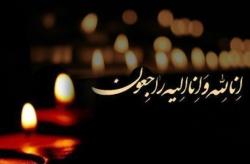 فرزند شهید سیدی درگذشت