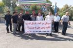 تجمع اعتراضی جمعی از خریداران زمین های موسوم به زمین های ارتش در مسجدسلیمان