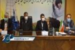 جلسه بررسی مشکلات حوزه راه و شهرسازی شهرستان های مسجدسلیمان، لالی، هفتکل و اندیکا با حضور وزیر راه و شهرسازی + تصاویر