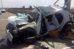 واژگونی سانتافه در جاده اندیکا- شهرکرد دو کشته بر جا گذاشت