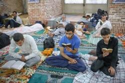آغاز مراسم معنوی اعتکاف در مسجدسلیمان