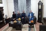 دیدار نماینده مردم مسجدسلیمان در مجلس شورای اسلامی با خانواده اهدا کننده عضو  + تصاویر