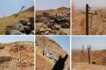 برخورد شدید جرثقیل حامل بار ترافیکی بزرگ، با شبکه برق روستایی در جاده مسجدسلیمان-لالی ۵۰۰ میلیون تومان خسارت به بار آورد