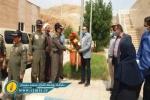 ادای احترام مدافعان وطن به مدافعان سلامت در مسجدسلیمان + تصاویر