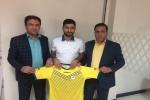 بازیکن فصل گذشته نفت مسجدسلیمان به مدت ۲ سال دیگر قرارداد خود را تمدید کرد + تصویر