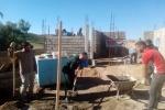 بازدید فرمانده سپاه شهرستان مسجدسلیمان از پروژه های محرومیت زدایی شهرستان