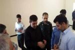بازدید فرمانده نیروی دریایی سپاه پاسداران انقلاب اسلامی از روند بازسازی سه مدرسه حادثه دیده شهرستان مسجدسلیمان در زلزله + تصاویر