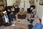 دیدار فرمانده انتظامی شهرستان مسجدسلیمان با خانواده شهید ایمان قاضی شهنی+ تصاویر