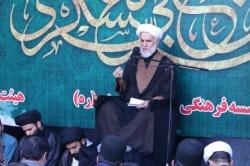 برگزاری مراسم عزاداری سالروز شهادت امام حسن عسکری(ع)در مسجدسلیمان+تصاویر
