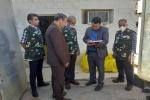 توزیع بسته های غذایی و گندزدایی و ضدعفونی کردن شهر عنبر توسط نفتی ها+ تصاویر