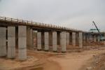 پروژه احداث پل های جاده ورودی شهر مسجدسلیمان از پیشرفت مناسبی برخوردار است