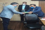 تقدیر سرپرست و معاونین اداره آموزش و پرورش مسجدسلیمان از مسئولین بهداشت و کادر درمانی  شهرستان