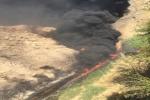 آتشسوزی جنب چاه شماره ۱ مسجدسلیمان مهار شد