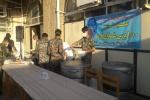 طبخ و توزیع ۱۰۰۰ پرس غذا گرم توسط گروه جهادی پایگاه مقاومت قدس