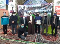 مراسم تجلیل از طلبه بسیجی و حافظ کل قرآن کریم برگزار شد+ تصویر