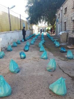اجرای مرحله هفتم رزمایش کمک های مومنانه در خیریه زنده یادان احمد و مریم رضایی