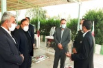 مراسم غبار روبی،عطرافشانی و گلباران گلزار شهدا در مسجدسلیمان برگزار شد+تصاویر