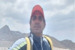 فتح بلندترین قله زردکوه بختیاری توسط حسین عالی محمدی قهرمان مسجدسلیمانی