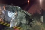 یک کشته و چهار مصدوم در برخورد دو دستگاه خودرو سواری در جاده مسجدسلیمان- اهواز