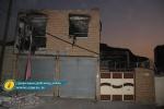 حضور فرماندار و دادستان مسجدسلیمان در محل حادثه انفجار گاز در منطقه نمره ۱