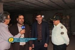 کشف انبار احتکار کالا در مسجدسلیمان + تصاویر