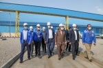 معاون پیگیری امور استان های دفتر رئیس جمهور به همراه استاندار خوزستان با حضور در مجتمع پتروشیمی مسجدسلیمان از روند پیشرفت این پروژه بازدید کرد