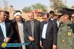 گزارش تصویری باشگاه روزنامه نگاران مسجدسلیمان از آیین کلنگ زنی پروژه ترمینال فرودگاه مسجدسلیمان