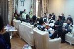 نشست فرمانده انتظامی مسجدسلیمان با جمعی از سران طوایف، معتمدین و ریش سفیدان