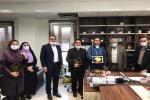 از مسئول روابط عمومی شبکه بهداشت و درمان مسجدسلیمان تقدیر شد