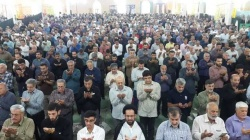 نماز عید سعید فطر در مسجدسلیمان اقامه شد