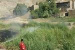 توضیحات شرکت نفت در خصوص آتشسوزی نیزارهای چاه شماره یک