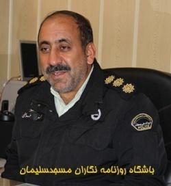 فرمانده سابق نیروی انتظامی مسجدسلیمان درگذشت