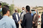 بازدید معاون ویژه وزیر راه و شهرسازی از شهرستان مسجدسلیمان