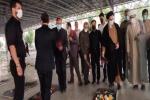 مراسم بزرگداشت ۳۰ مهر سالروز حملات گسترده موشکی به شهرستان مسجدسلیمان برگزار شد+پیام معاون اقتصادی رئیس جمهور