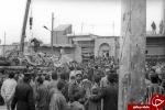 تصاویر زیرخاکی از حمله موشکی به شهر مسجدسلیمان در ۴ دی ماه ۱۳۶۲