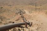 نشت نفت خط انتقال در مسیر نمره یک به بی بی یان مسجدسلیمان برطرف شد