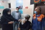 تزریق واکسن کرونا به ۲۰ نفر از پاکبانان شهرداری مسجدسلیمان/۱۶۰ نفر دیگر طی ۴ مرحله واکسینه خواهند شد