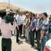 حسین عالی محمدی پس از ۱۵ روز پیاده روی از تهران وارد مسجدسلیمان شد